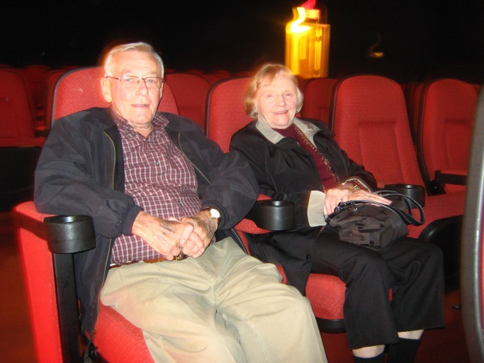 Jeff Burr's cousin even dropped by to enjoy the double feature.