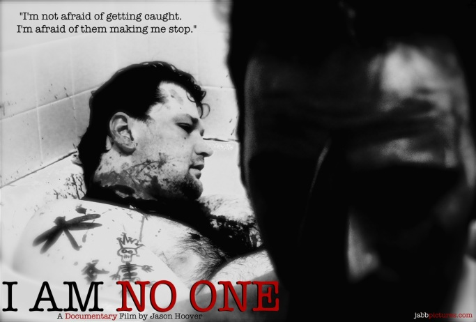 I AM NO ONE poster copy