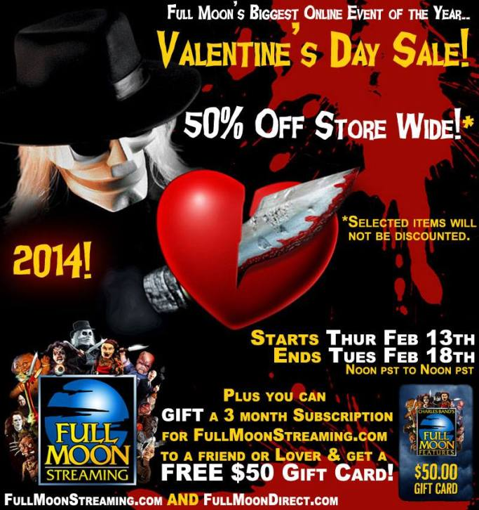 Full Moon sale Vday