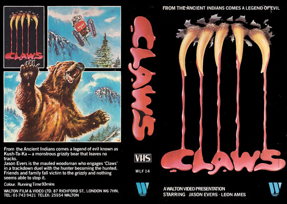 fauces - claws - devil bear - 1977 - video011